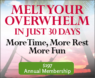 Melt Your Overwhelm in Just 30 Days image