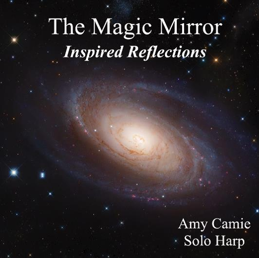 The Magic Mirror solo harp CD image