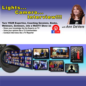 Lights...Camera...Interview! image