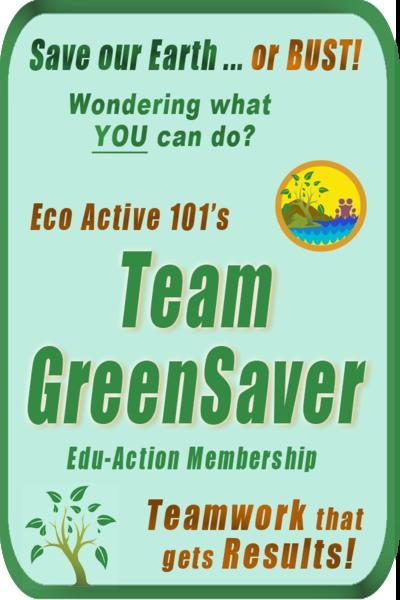 Eco Active 101 Team GreenSaver Membership - 2-fer image