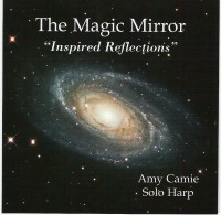 The Magic Mirror solo harp CD image